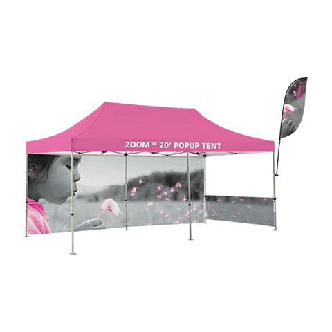 Zoom Tent Flag Accessory