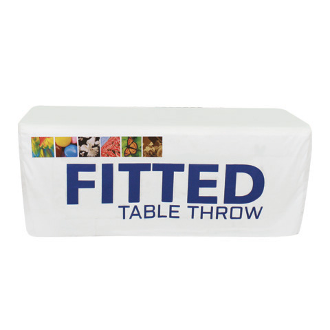 Fitted Table Throw 4ft