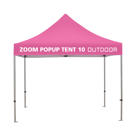 10ft Popup Tent Frame (Optional Custom Graphic Kits)