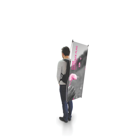 Zoom Backpack Flag (X-Banner)