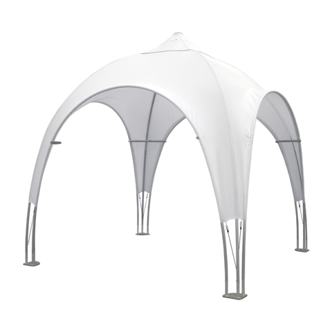 10ft Tubular Dome Tent (Optional Custom Graphic Kits)