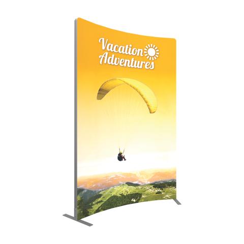 Vector Frame Curved Banner 03