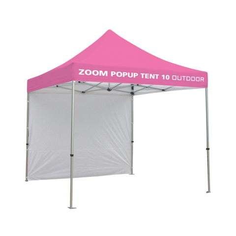 10ft Popup Tent Frame (Optional Custom Graphic Kits)  sc 1 st  Sign Design Associates Inc. & Zoom Tent Flag Accessory | Sign Design Associates Inc.