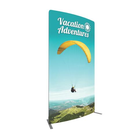 Vector Frame Curved Banner 02