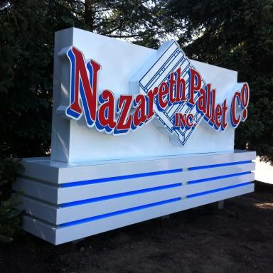 Nazareth Pallet Main ID Sign