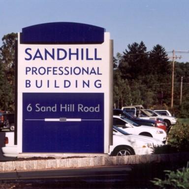 Sandhill Main ID SIgn