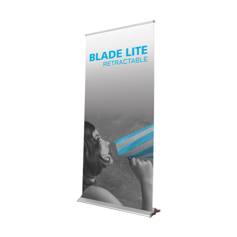 Blade Lite Retractable Banner Stand