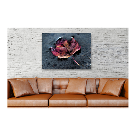 Neon Flower Canvas Print