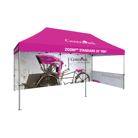 20ft Popup Tent Frame (Optional Custom Graphic Kits)